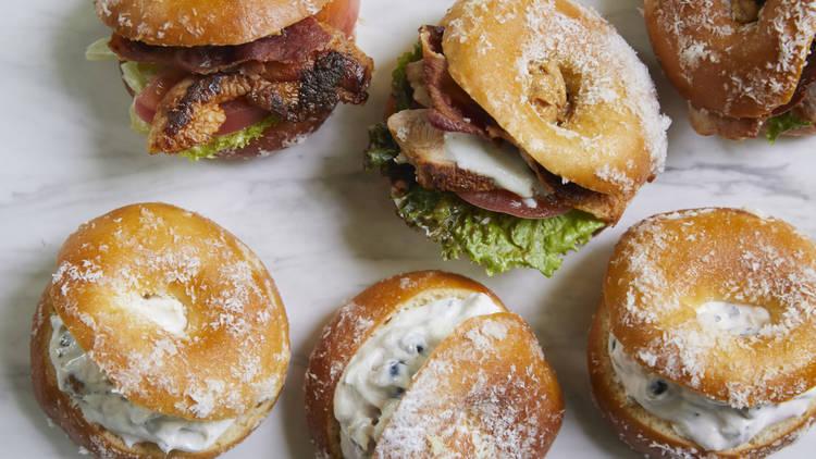 Dean & Deluca, doughnut sandwiches