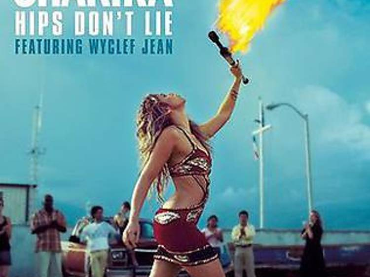 """""""Hips Don't Lie"""" by Shakira featuring Wycleff Jean"""