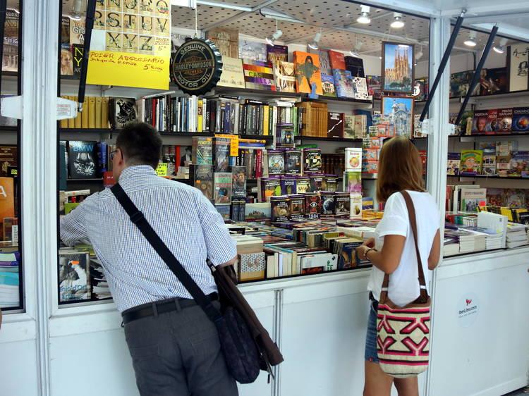 Feria del Libro de Ocasión Antiguo y Moderno de Barcelona