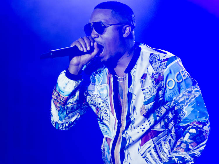 Nas and City Harvest organize Queens concert to combat food insecurity