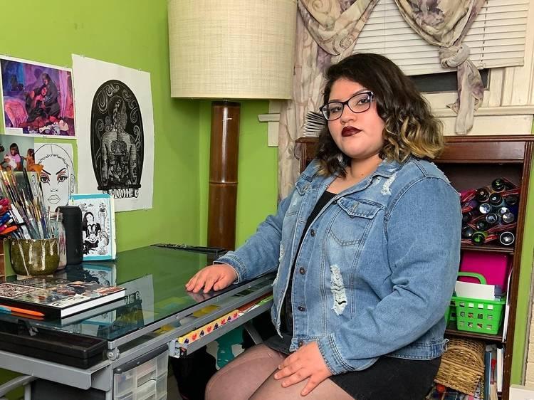 Jackie, artist from LA