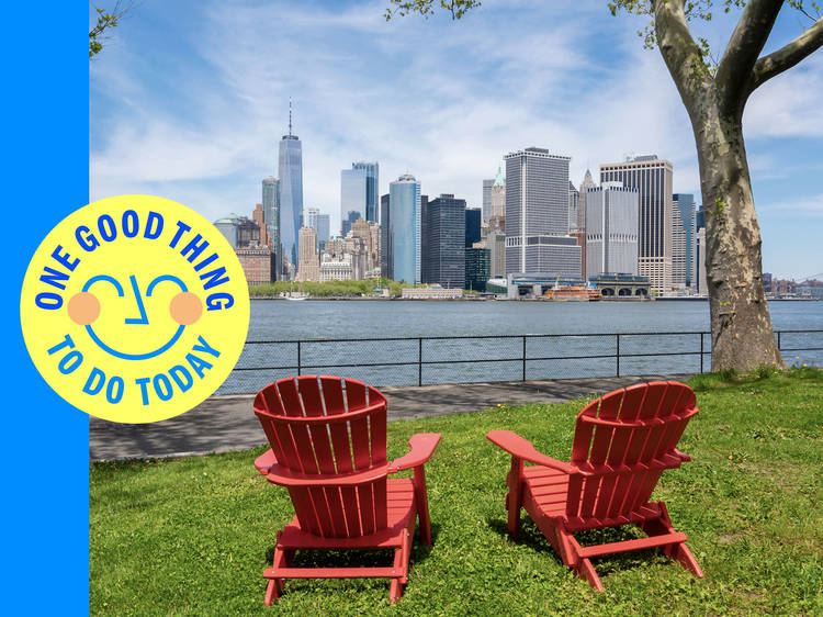 Spend a day away from it all on Governors Island