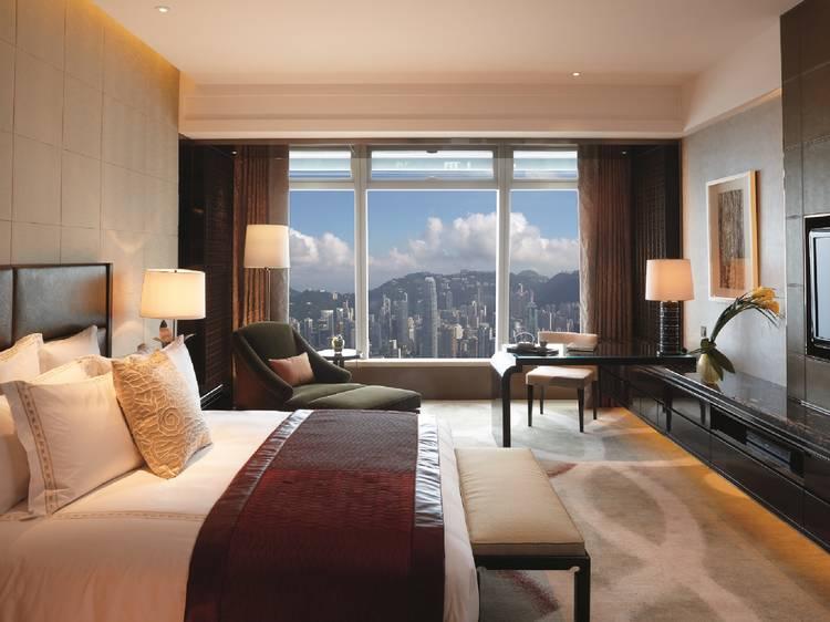 Staycation at The Ritz Carlton, Hong Kong