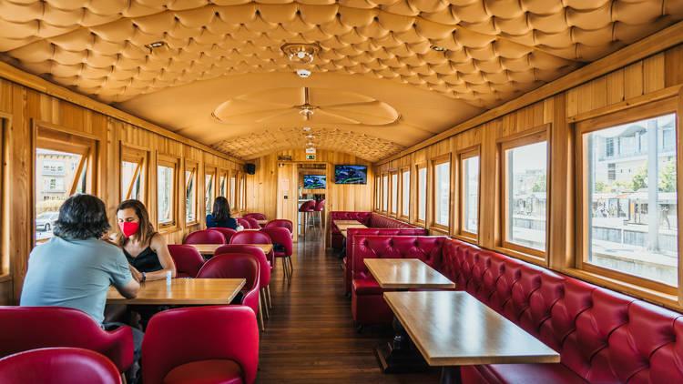 Restaurante, Bar, Cascais, Trem Velho