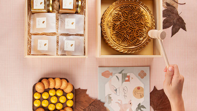 Date by Tate Mid-Autumn pastry box
