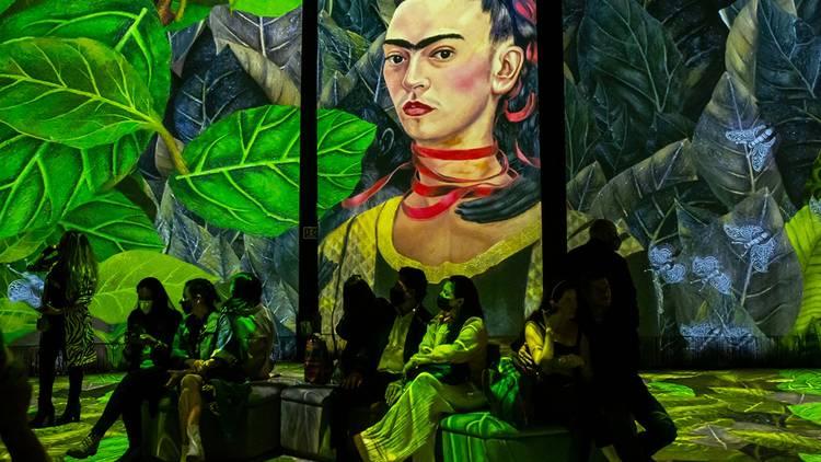 Frida Kahlo immersive exhibition Mexico City