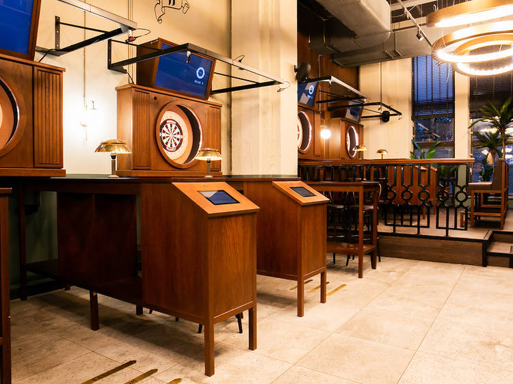Bored at the bar? This new South Beach spot serves up craft cocktails and dart games.