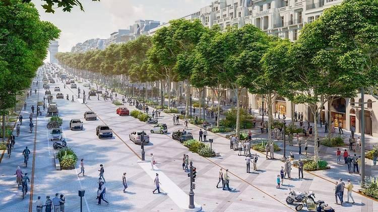 Champs-Élysées new look