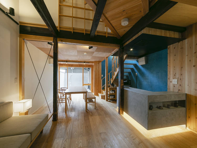 This Kyoto townhouse is now a wheelchair accessible and pet-friendly holiday rental