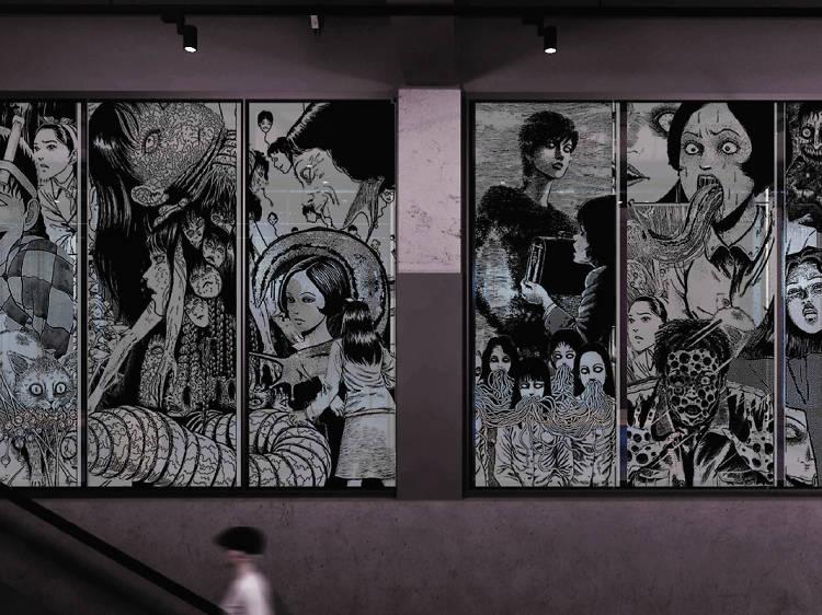 The Mills 南豐紗廠十月舉行日本恐怖漫畫大師伊藤潤二展覽