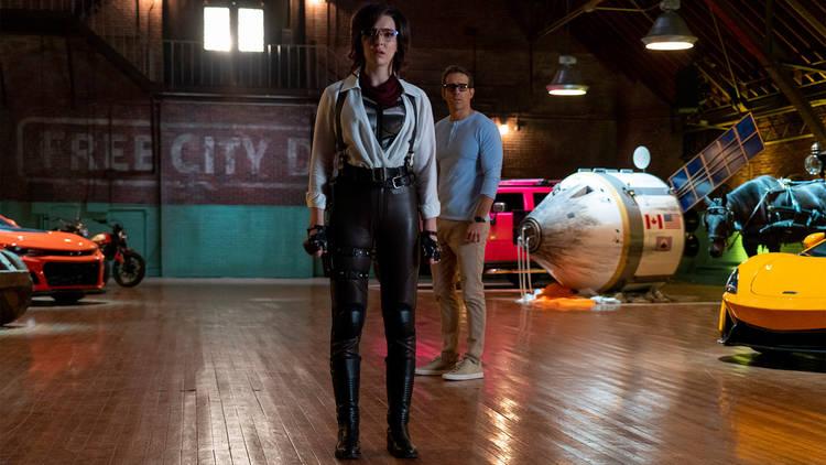 Filme, Cinema, Comédia, Acção, Sci-fi, Free Guy: Herói Improvável (2021)