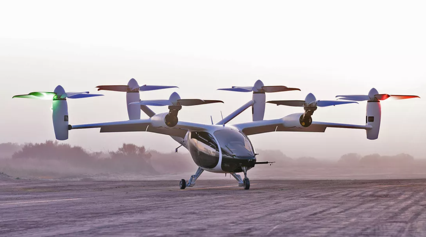 Here's when New Yorkers might be riding around in electric flying taxis