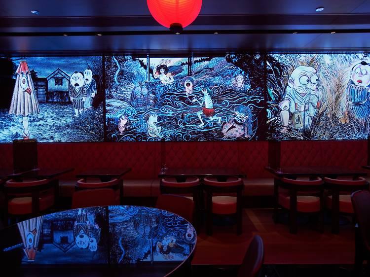 香港鬼怪奇幻風餐廳