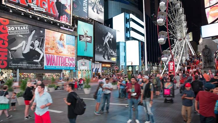 Times Square Ferris Wheel