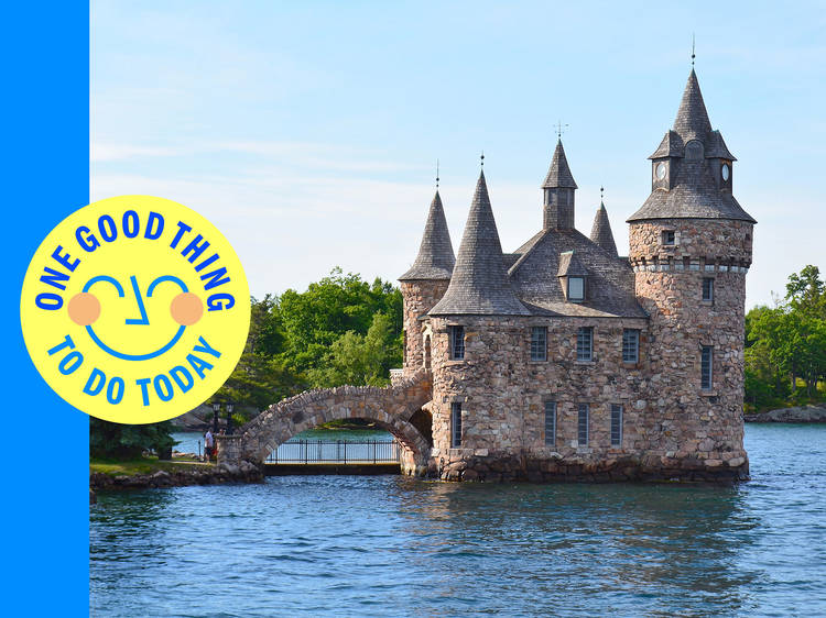 Pretend you're in Europe at Boldt Castle in the Thousand Islands