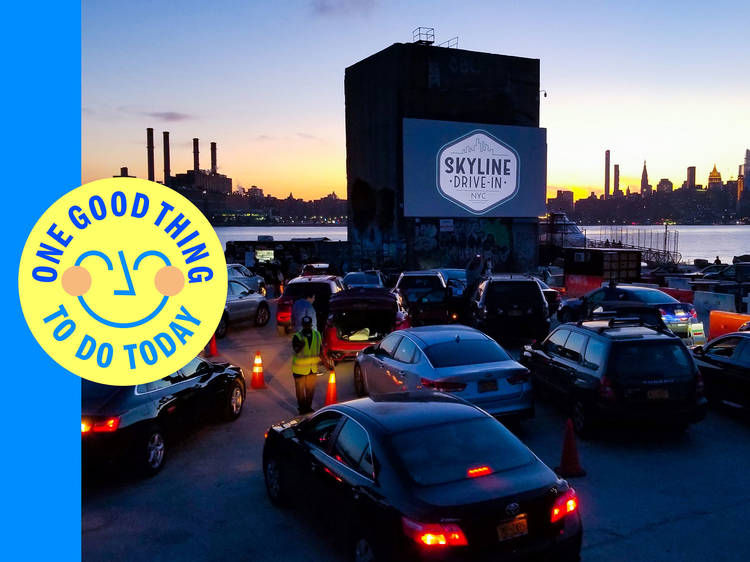 Catch a flick at the Skyline Drive-In