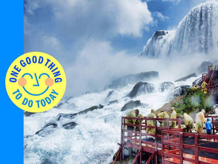 Visit America's most famous waterfall