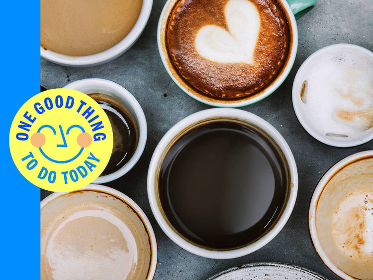 Get the freshest coffee in all of NYC