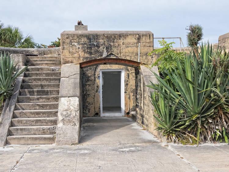 Fort Dade, Egmont Key, Florida