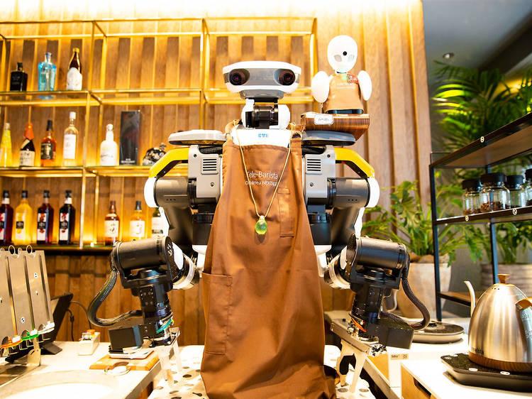 ロボットがバリスタに変身