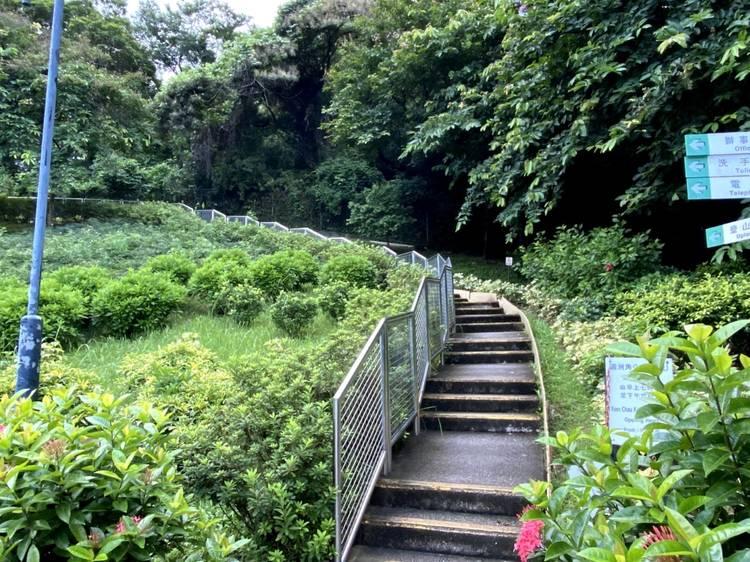 圓洲角公園:快速登頂