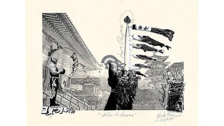 Cacahuates japoneses, Japón a través del arte mexicano