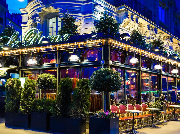 On his favourite Paris restaurants