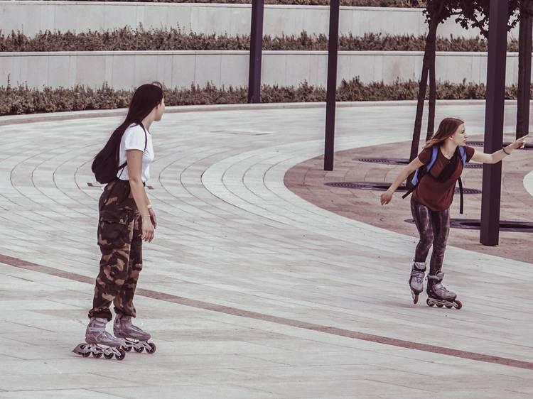 Beach Skate at the Bandshell