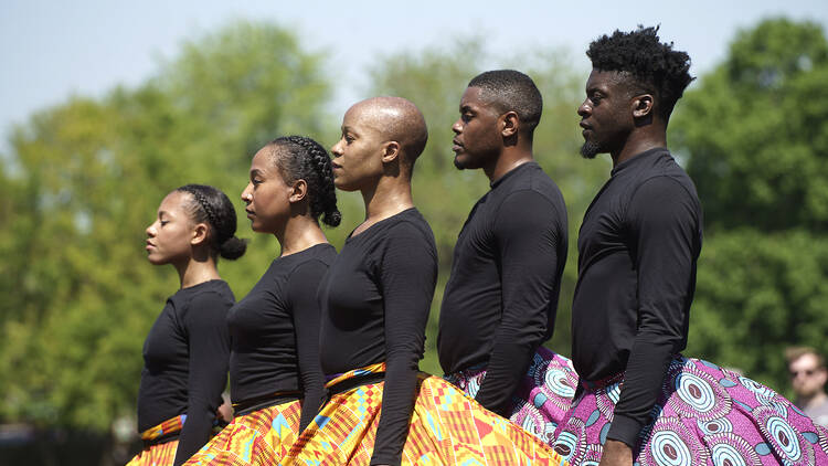 black victorians, greenwich and docklands international festival, outdoor theatre