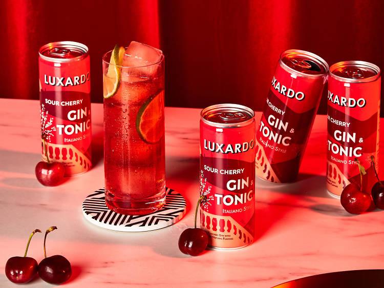 Luxardo Sour Cherry Gin & Tonic