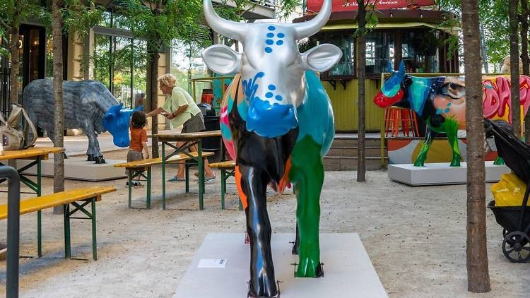 CowParade at Industry City