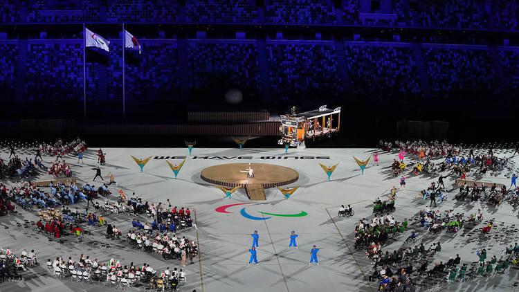 Tokyo Paralympics opening ceremony