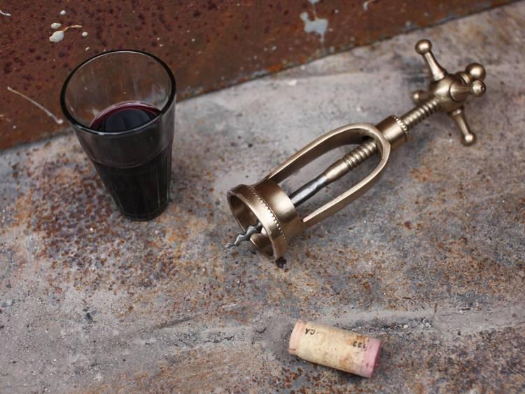 Chiri vintage gold corkscrew, Nkuku ($42)
