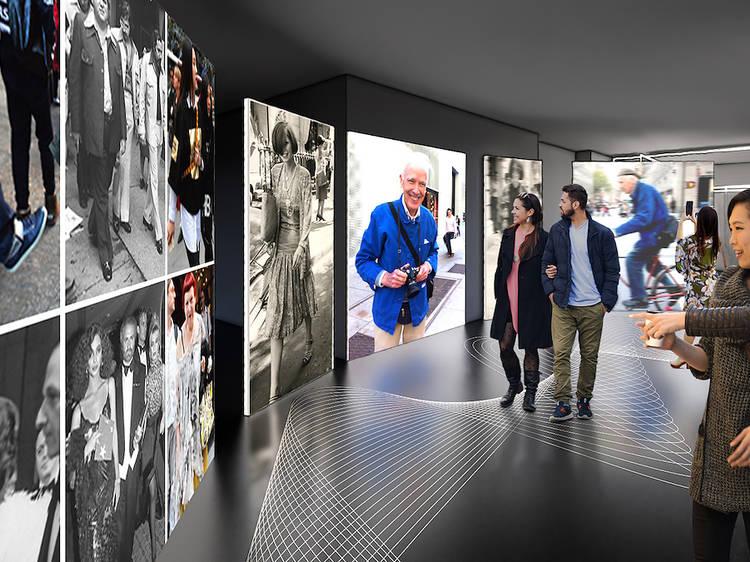Take in an immersive Bill Cunningham exhibit