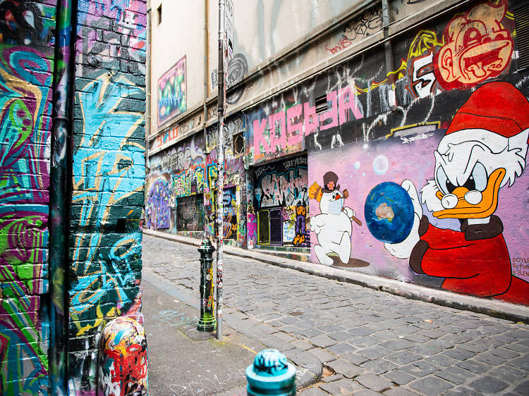 Track down the best street art in our city
