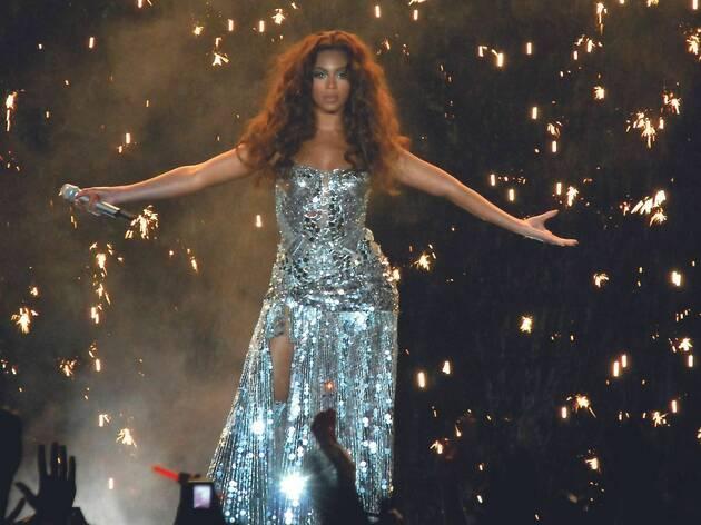 Beyoncé al Palau Sant Jordi l'any 2007