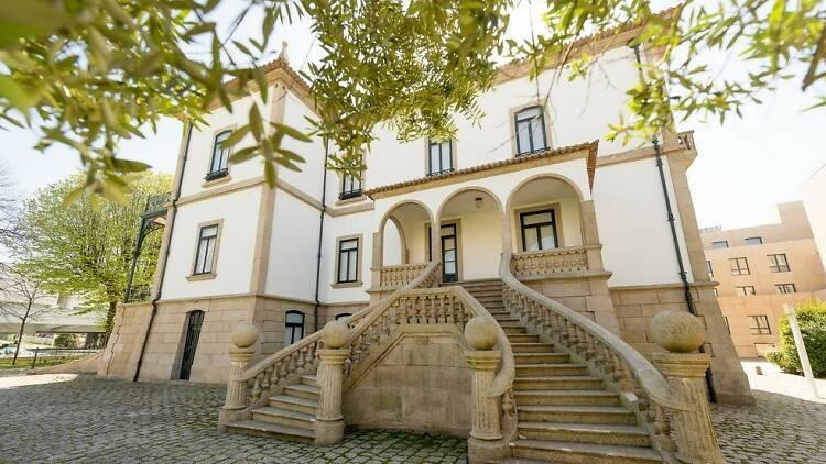 O Museu da Memória de Matosinhos está instalado no Palacete Visconde de Trevões