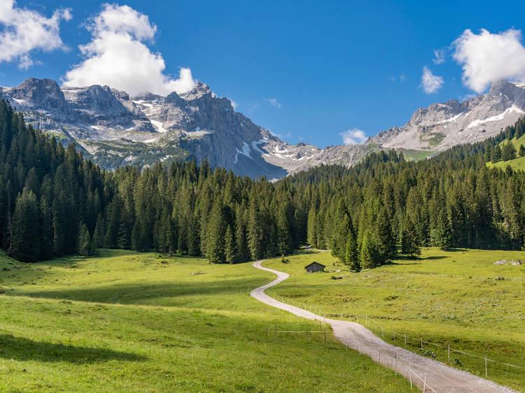 Ratikon High Trail Hut-to-Hut Circuit, Austria/Switzerland