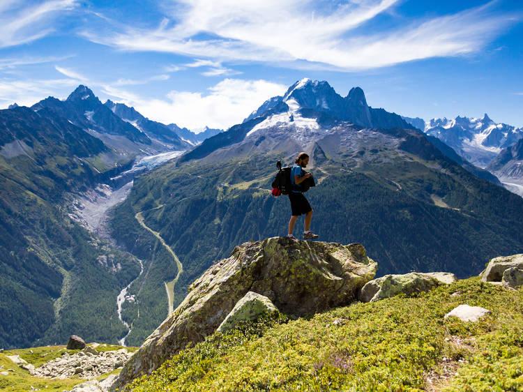 Tour du Mont Blanc, Switzerland/Italy/France