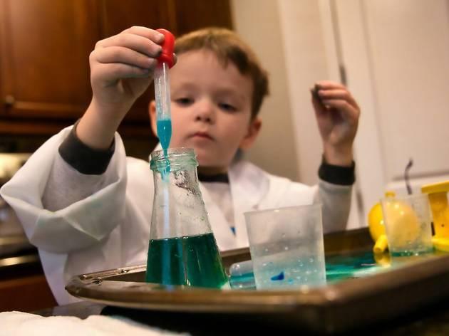 Maratón de ciencias para niños