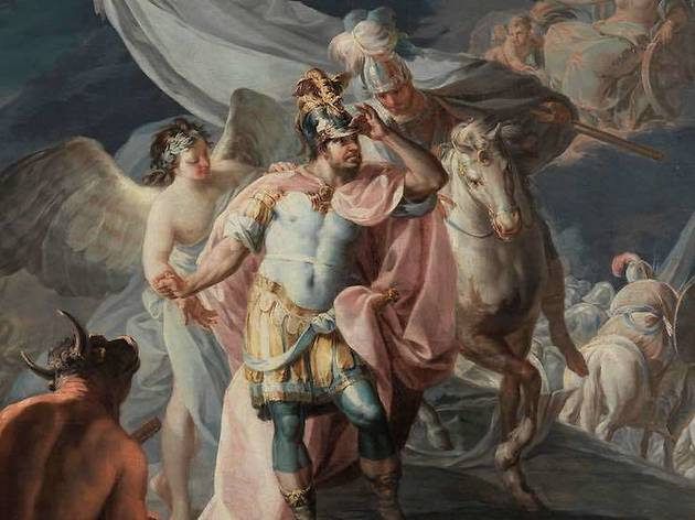 'Aníbal vencedor que por primera vez mira Italia desde los Alpes', de Goya (Museo del Prado)
