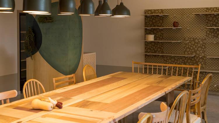 Restaurante, Cozinha Vegetariana, Kitchen Dates