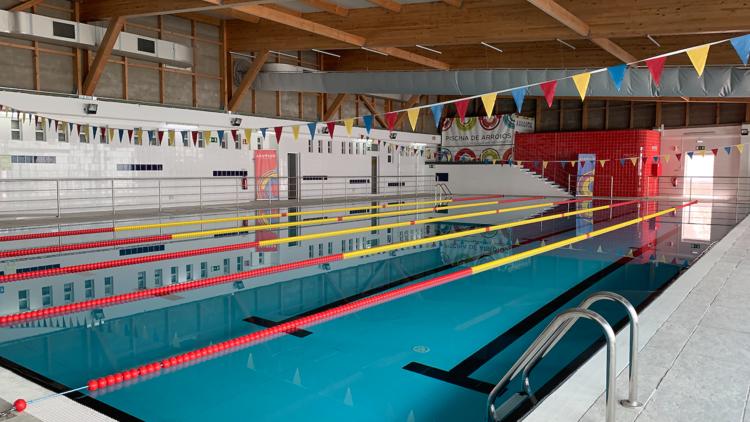 piscina de arroios
