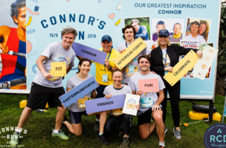An image from last year's Connor's Run event.
