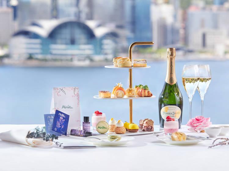 Sheraton Hong Kong Mellow with Melvita afternoon tea
