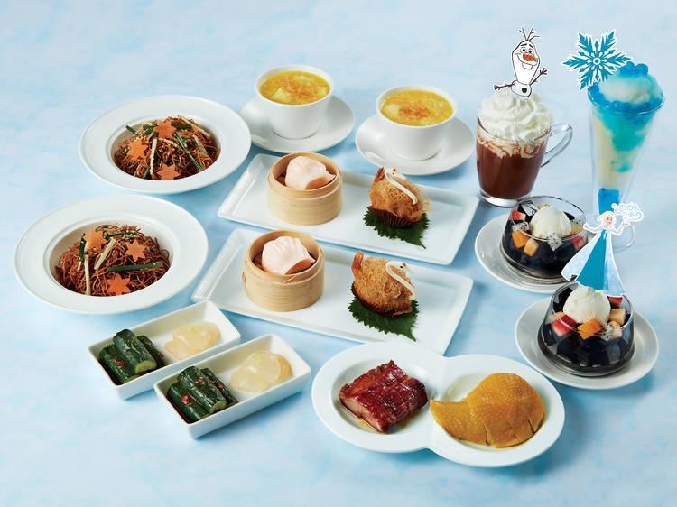 Hong Kong Disneyland's Plaza Inn afternoon tea