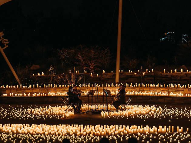 concerto à luz da velas