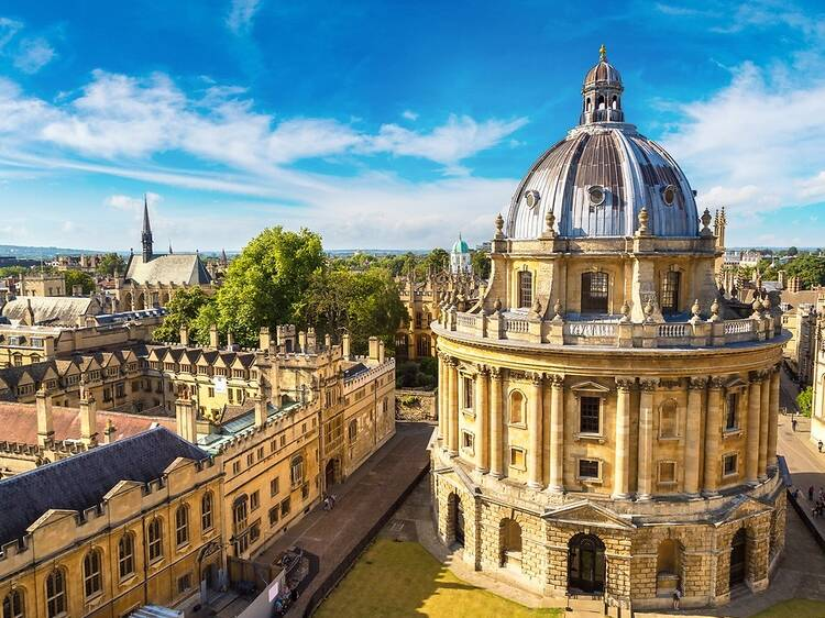Follow in the footsteps of Inspector Morse