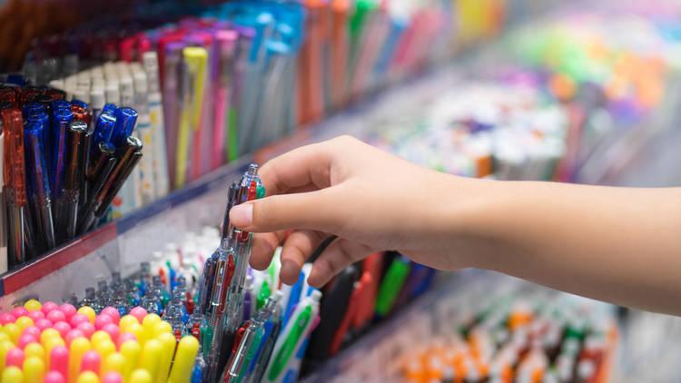 Feria de útiles escolares en Iztapalapa