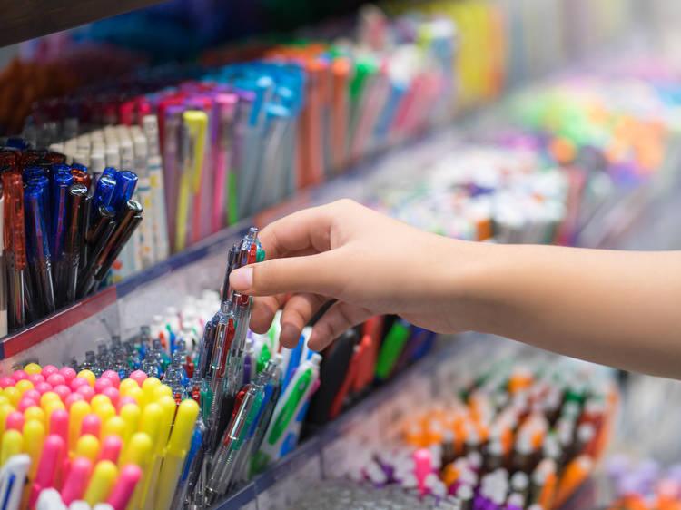 Feria de útiles en Iztapalapa para este regreso a clases